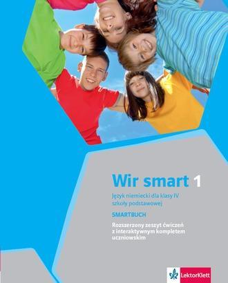 Wir Smart 1. Język niemiecki dla - okładka podręcznika