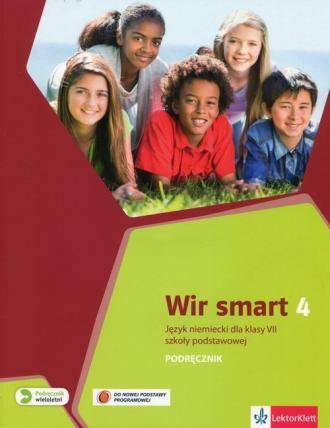 Wir Smart. Język niemiecki 4. Szkoła - okładka podręcznika