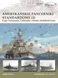 Amerykańskie pancerniki standardowe - okładka książki