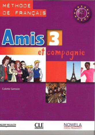 Amis et compagnie 3. Podręcznik - okładka podręcznika