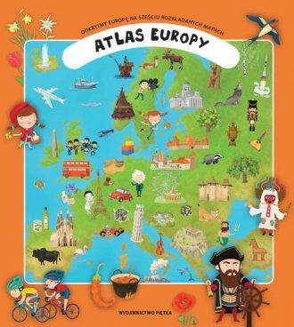 Atlas Europy - okładka książki