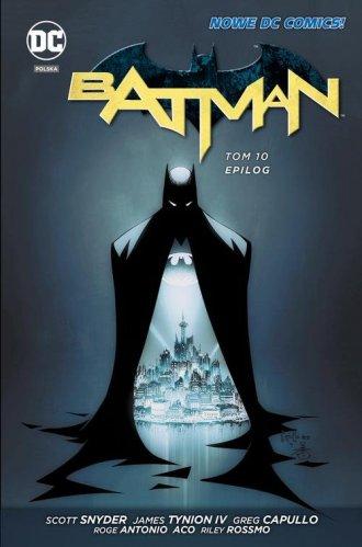 Batman. Tom 10. Epilog - okładka książki