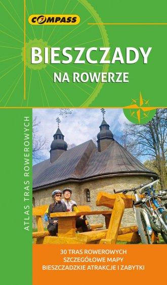 Bieszczady na rowerze. Atlas tras - okładka książki