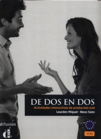 De dos en dos - okładka podręcznika