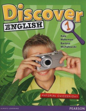 Discover English 1. Szkoła podstawowa. - okładka podręcznika