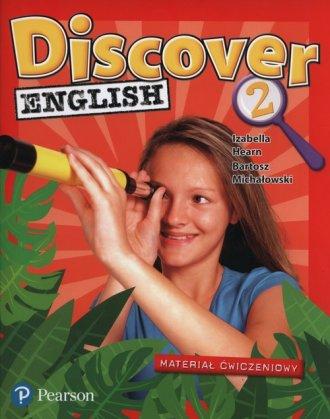 Discover English 2. Szkoła podstawowa. - okładka podręcznika