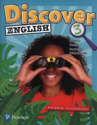Discover English 3. Szkoła podstawowa. - okładka podręcznika