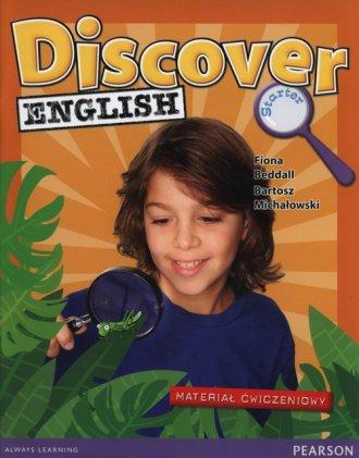 Discover English Starter. Szkoła - okładka podręcznika