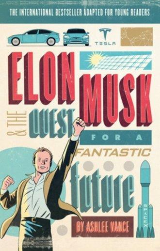 Elon Musk Young Readers Edition - okładka książki