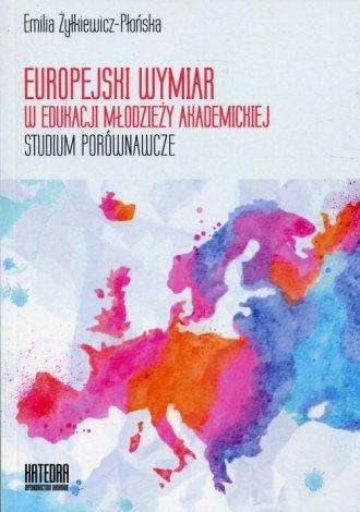 Europejski wymiar w edukacji młodzieży - okładka książki