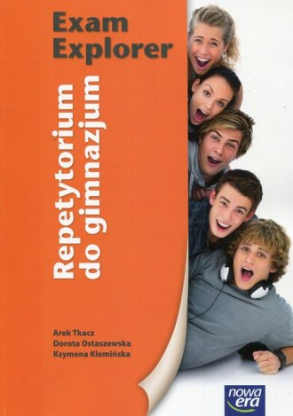 Exam Explorer. Gimnazjum. Repetytorium - okładka podręcznika