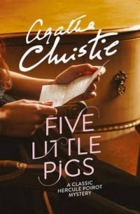Five Little Pigs - okładka książki