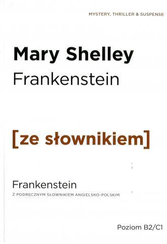 Frankenstein z podręcznym słownikiem - okładka książki