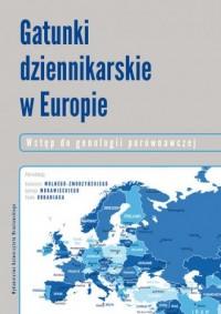Gatunki dziennikarskie w Europie. - okładka książki