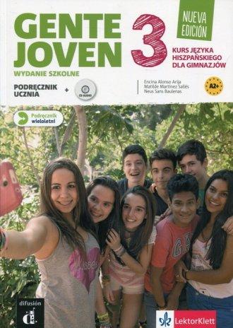 Gente Joven 3. Gimnazjum. Podręcznik - okładka podręcznika