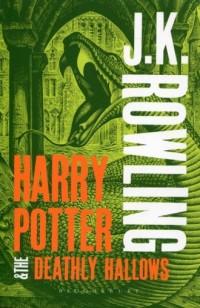 Harry Potter and the Deathly Hallows - okładka książki