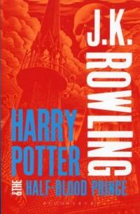Harry Potter and the Half-Blood Prince - okładka książki