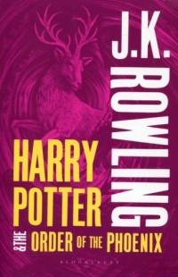 Harry Potter and the Order of the Phoenix - okładka książki