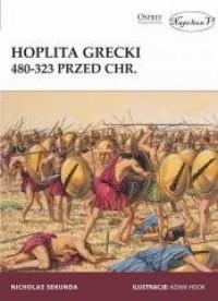 Hoplita grecki 480-323 przed Chr. - okładka książki