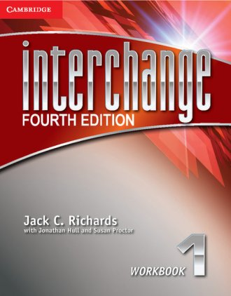 Interchange 1 Workbook - okładka podręcznika