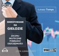Inwestowanie na giełdzie. Zacznij - pudełko audiobooku