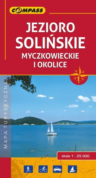 Jezioro Solińskie Myczkowieckie - okładka książki