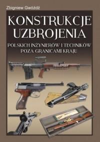 Konstrukcje uzbrojenia polskich - okładka książki