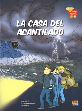 La casa del acantilado (A1, A2) - okładka książki