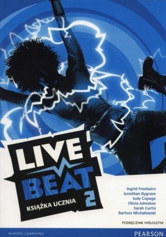 Live Beat 2. Gimnazjum. Podręcznik - okładka podręcznika