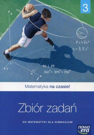 Matematyka na czasie 3. Gimnazjum - okładka podręcznika