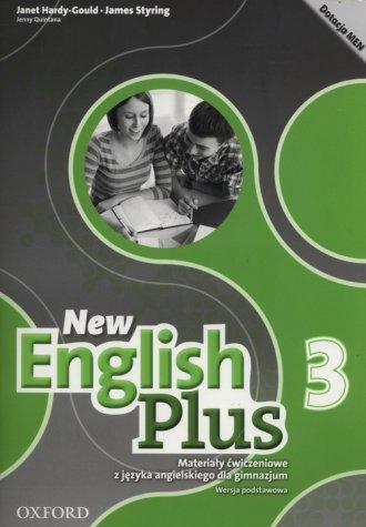 New English Plus 3 Materiały ćwiczeniowe - okładka podręcznika