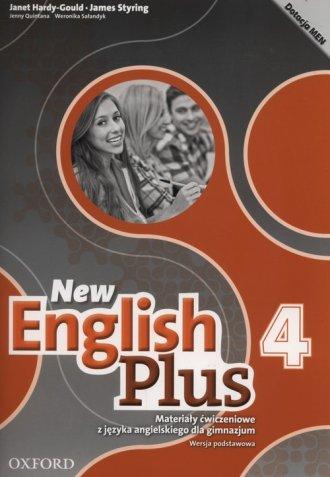 New English Plus 4. Gimnazjum Materiały - okładka podręcznika