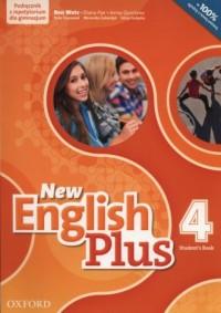 New English Plus 4. Gimnazjum. Podręcznik z repetytorium (+ CD) - okładka podręcznika