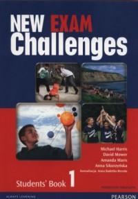 New Exam Challenges 1. Gimnazjum Students Book. Podręcznik wieloletni (+ CD) - okładka podręcznika