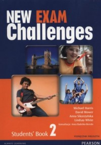 New Exam Challenges 2 Students Book. Gimnazjum. Podręcznik wieloletni (+ CD) - okładka podręcznika