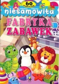 Niesamowita fabryka zabawek - okładka książki