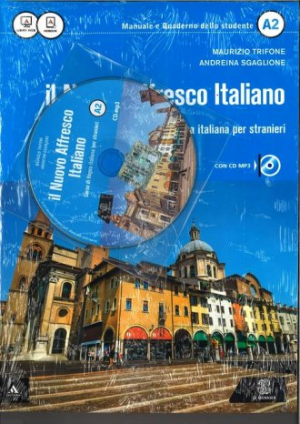 Nuovo Affresco Italiano A2. Podręcznik - okładka podręcznika
