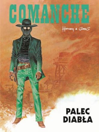 Palec diabła. Comanche. Tom 7 - okładka książki