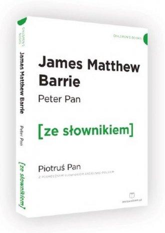 Peter Pan. Piotruś Pan z podręcznym - okładka książki