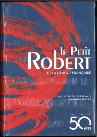 Petit Robert edition des 50ans - okładka książki