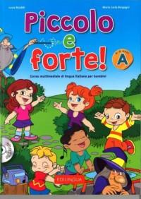 Piccolo e forte! A Podręcznik (+ CD) - okładka książki