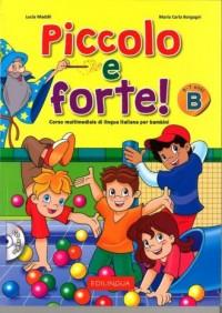 Piccolo e forte! B. Podręcznik (+ CD) - okładka książki