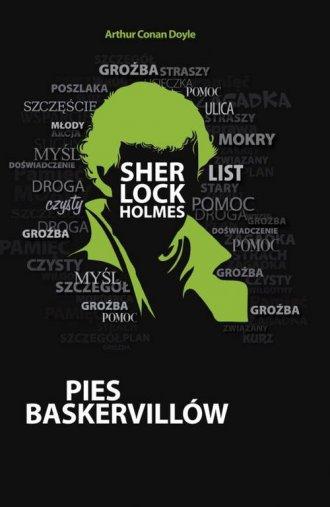Pies Baskervillów - okładka książki