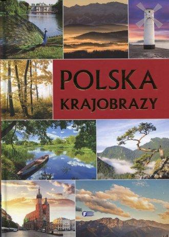 Polska krajobrazy - okładka książki