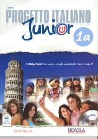 Progetto Italiano Junior 1A 7. Podęcznik (+ CD) - okładka podręcznika