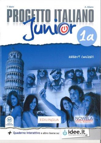 Progetto Italiano Junior 1A 7. - okładka podręcznika