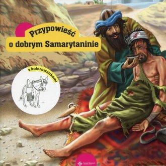 Przypowieść o dobrym Samarytaninie. - okładka książki