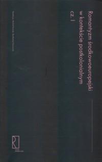 Romantyzm środkowoeuropejski w - okładka książki
