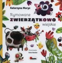 Rymowane zwierzątkowo wiejskie - okładka książki