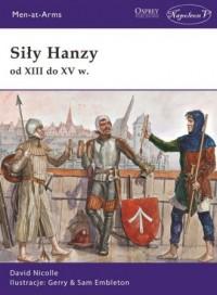 Siły Hanzy od XIII do XV w. - okładka książki
